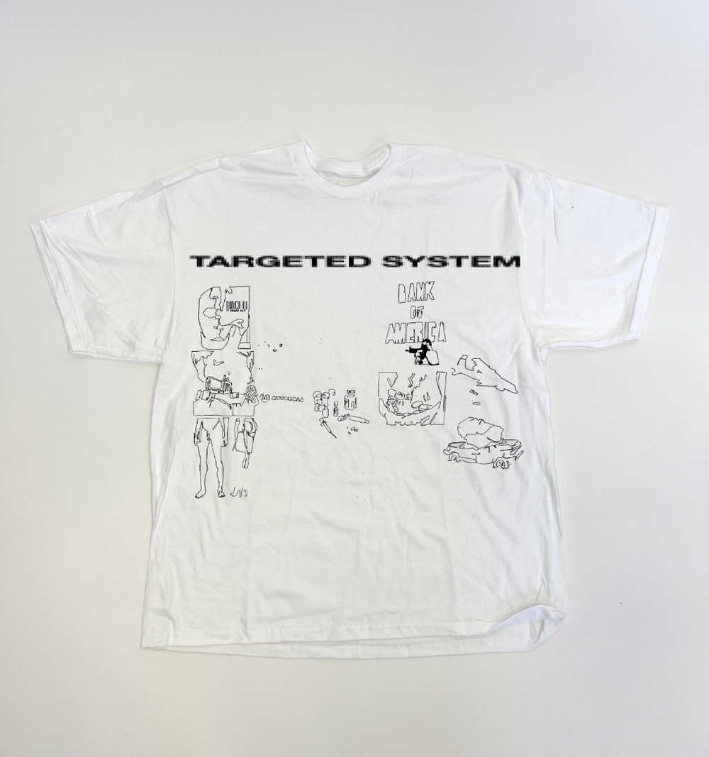 Image of TARGETED SYSTEM (OVERSIZED TEE)