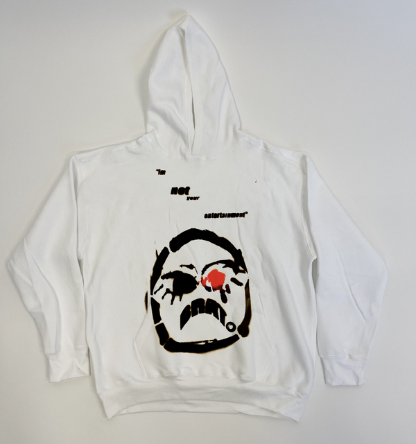 """Image of """"IM NOT YOUR ENTERTAINMENT"""" BRAT HOODIE"""