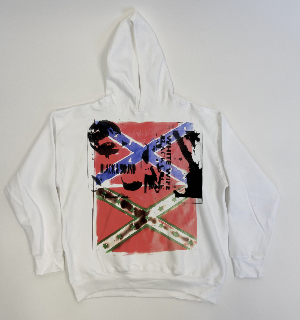 """Image of """"TRY AND FETISHIZE ME I DARE YOU"""" HOODIE"""