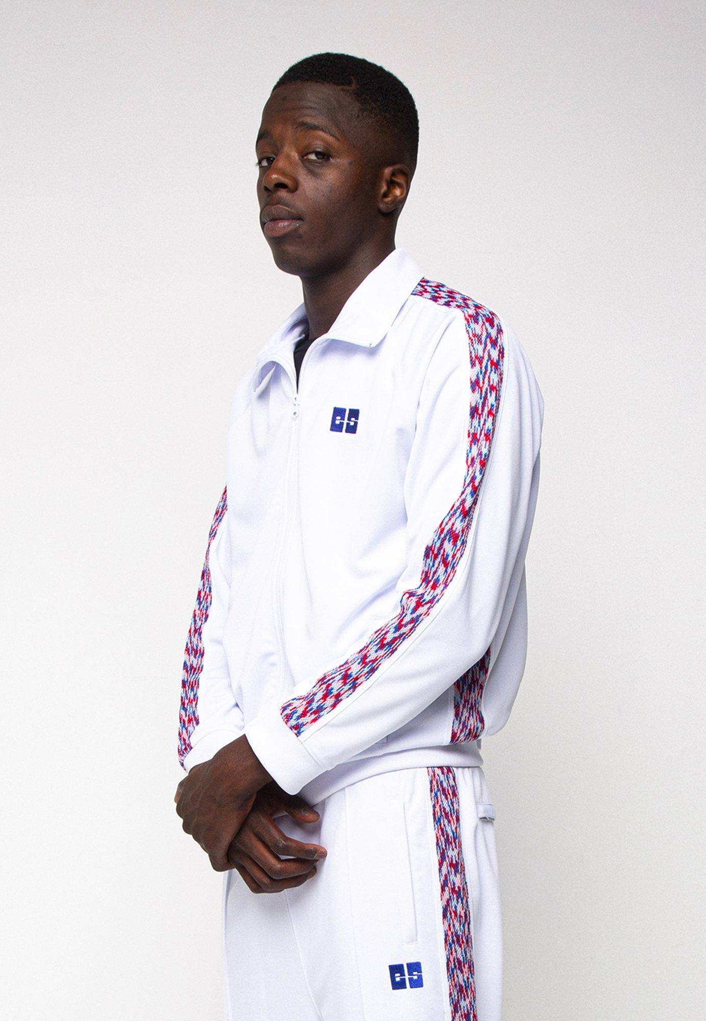 Image of ES White Track Jacket