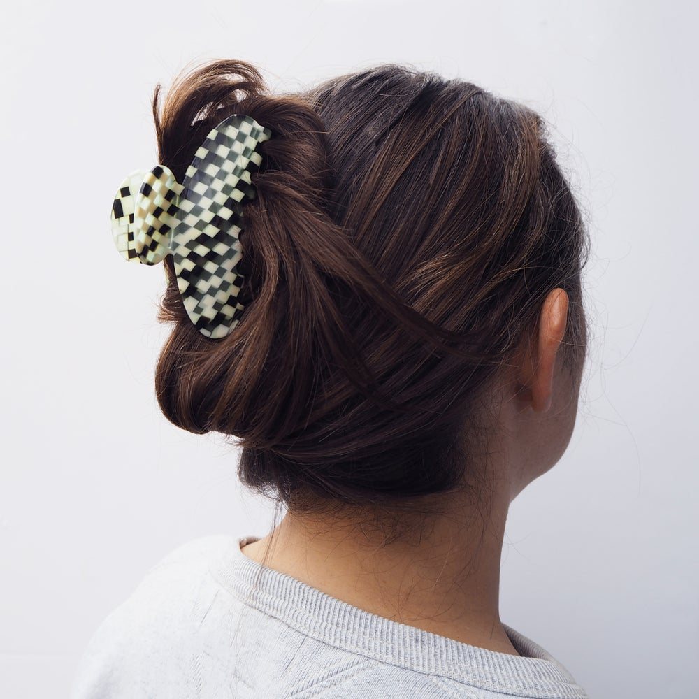 Image of *SAMPLE SALE* Checker Hair Claw