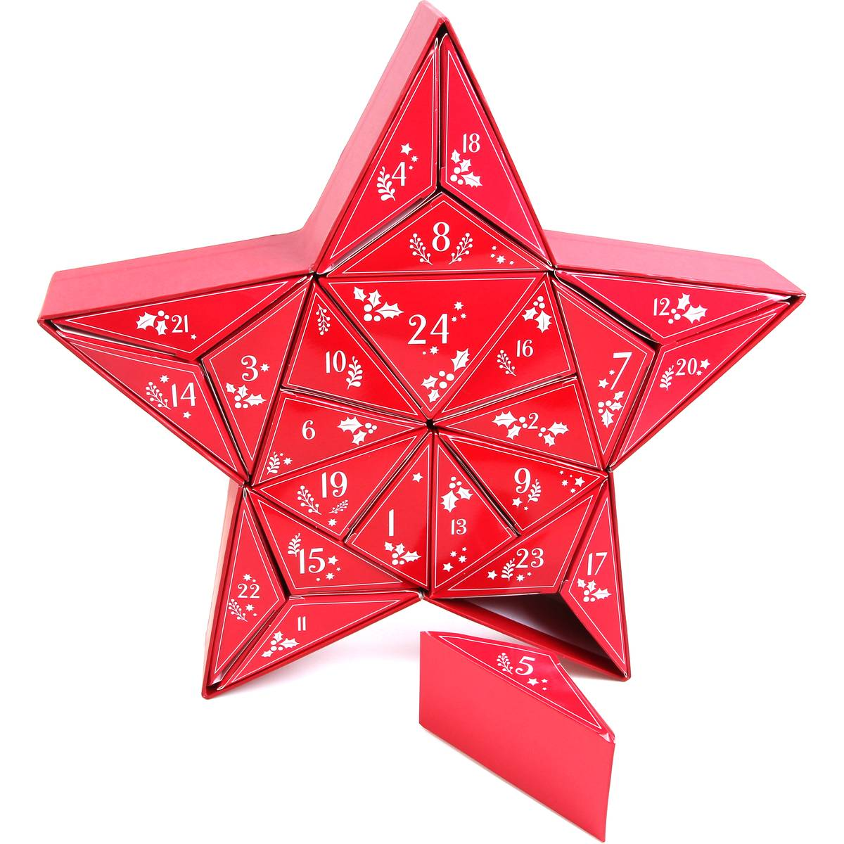 Image of Red Star Countdown to Christmas Advent Calendar