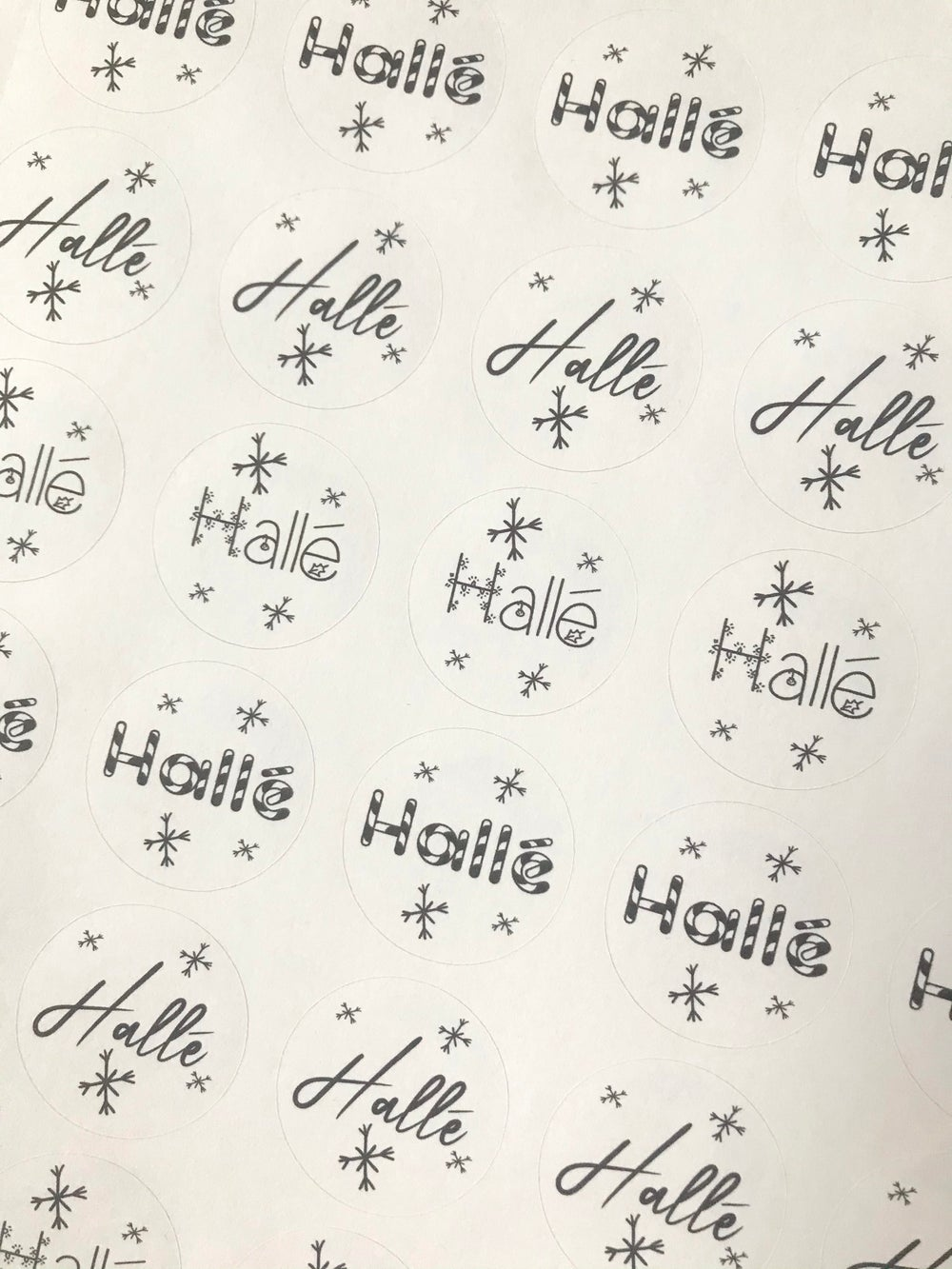Image of Personalised Present Stickers