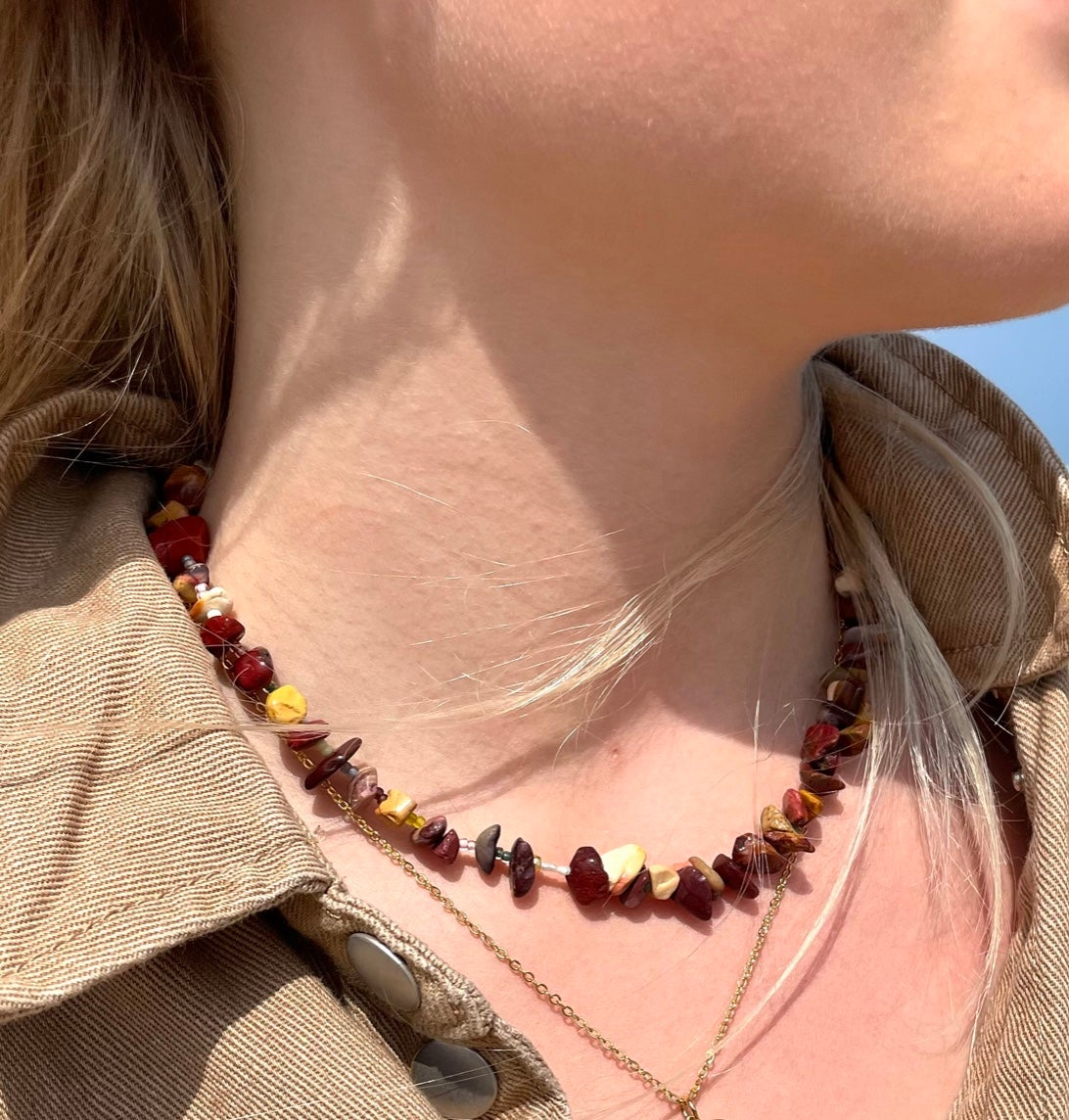 Image of Mookaite Wholeness Necklace