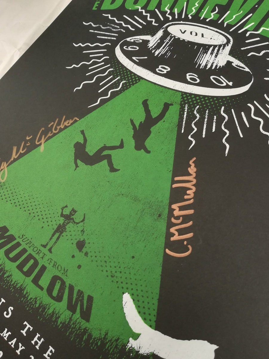Image of Signed. Screen Printed Tour Posters