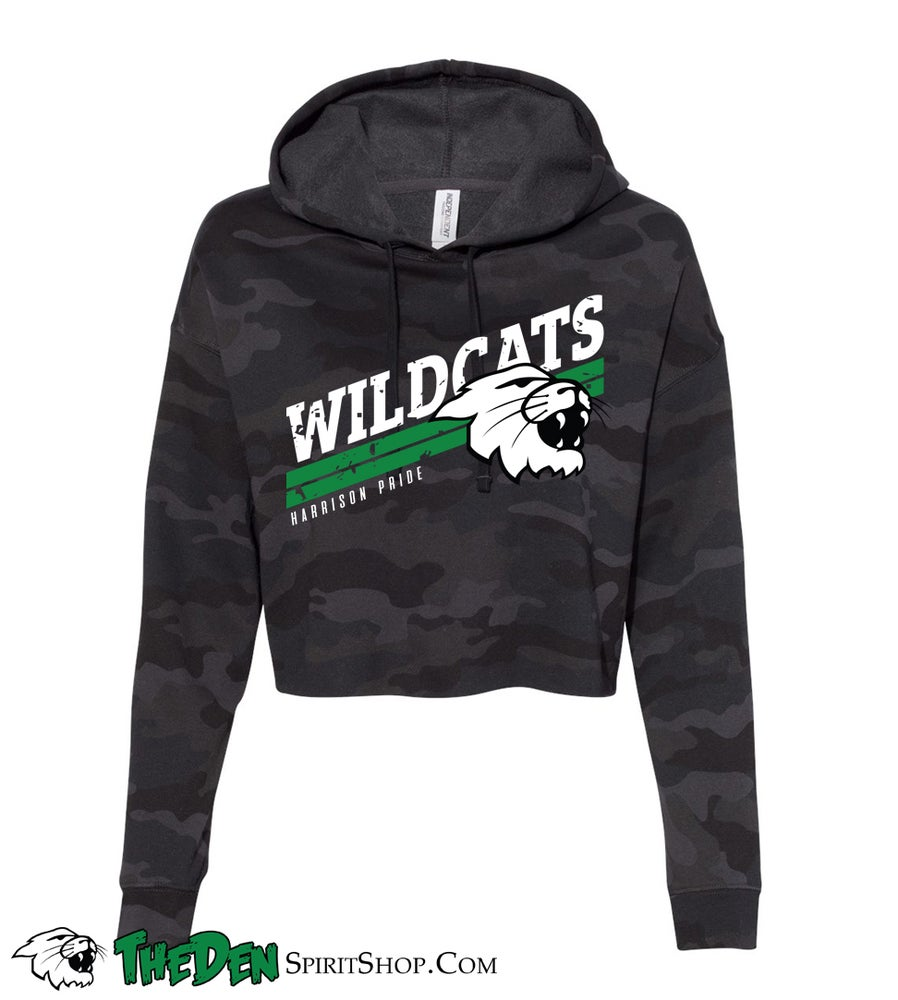Image of Wildcats Cropped Hoodie