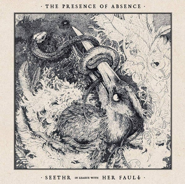 """Image of Seethr / Her Fault  – """"The Presence of Absence"""" split LP"""