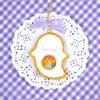 Shaka Shaka Ghost Cookie Necklace - Bright