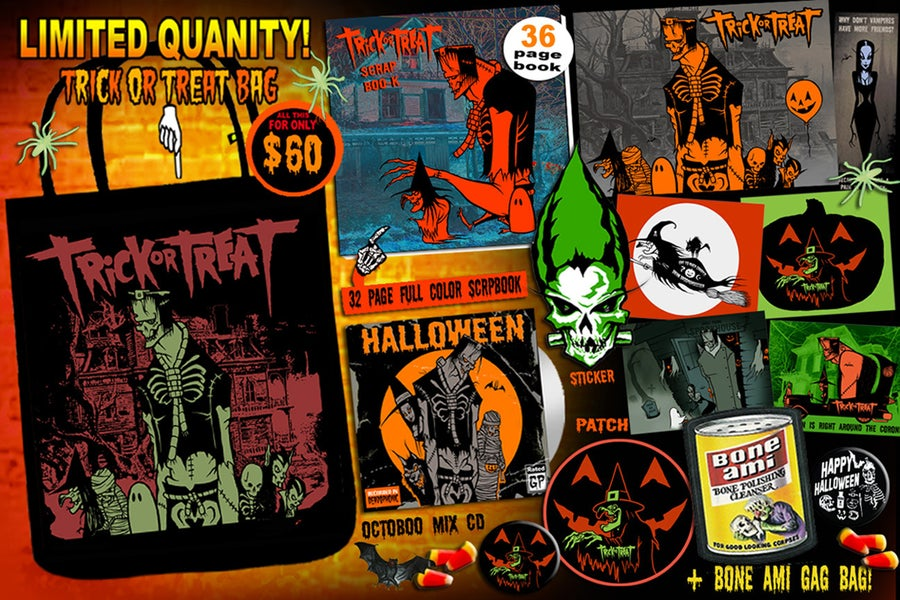 Image of TRICK OR TREAT BAG SPECIAL - 2 left