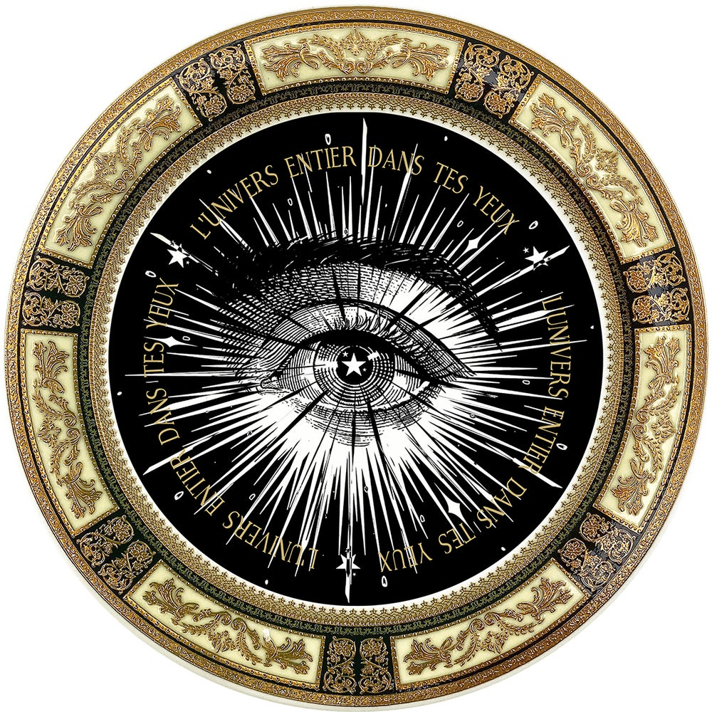 Image of Lover's Eye - Dark Univers - Fine China Plate - #0781