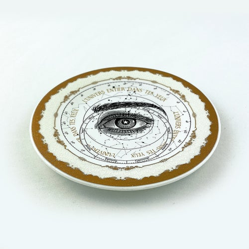 Image of Lover's Eye - Zodiac - Fine China Plate - #0778