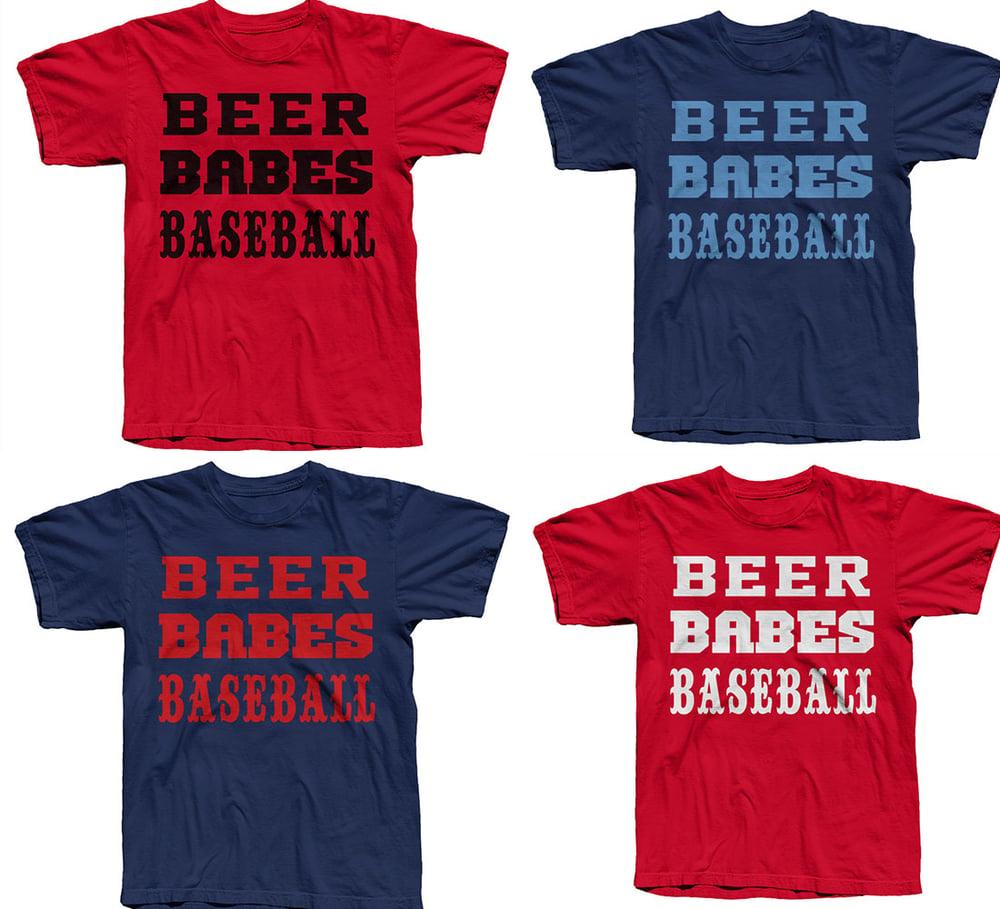 Beer Babes Baseball Tee - FREE SHIPPING!