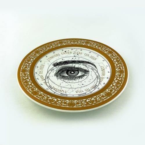 Image of  Lover's Eye - Zodiac - Fine China Plate - #0784