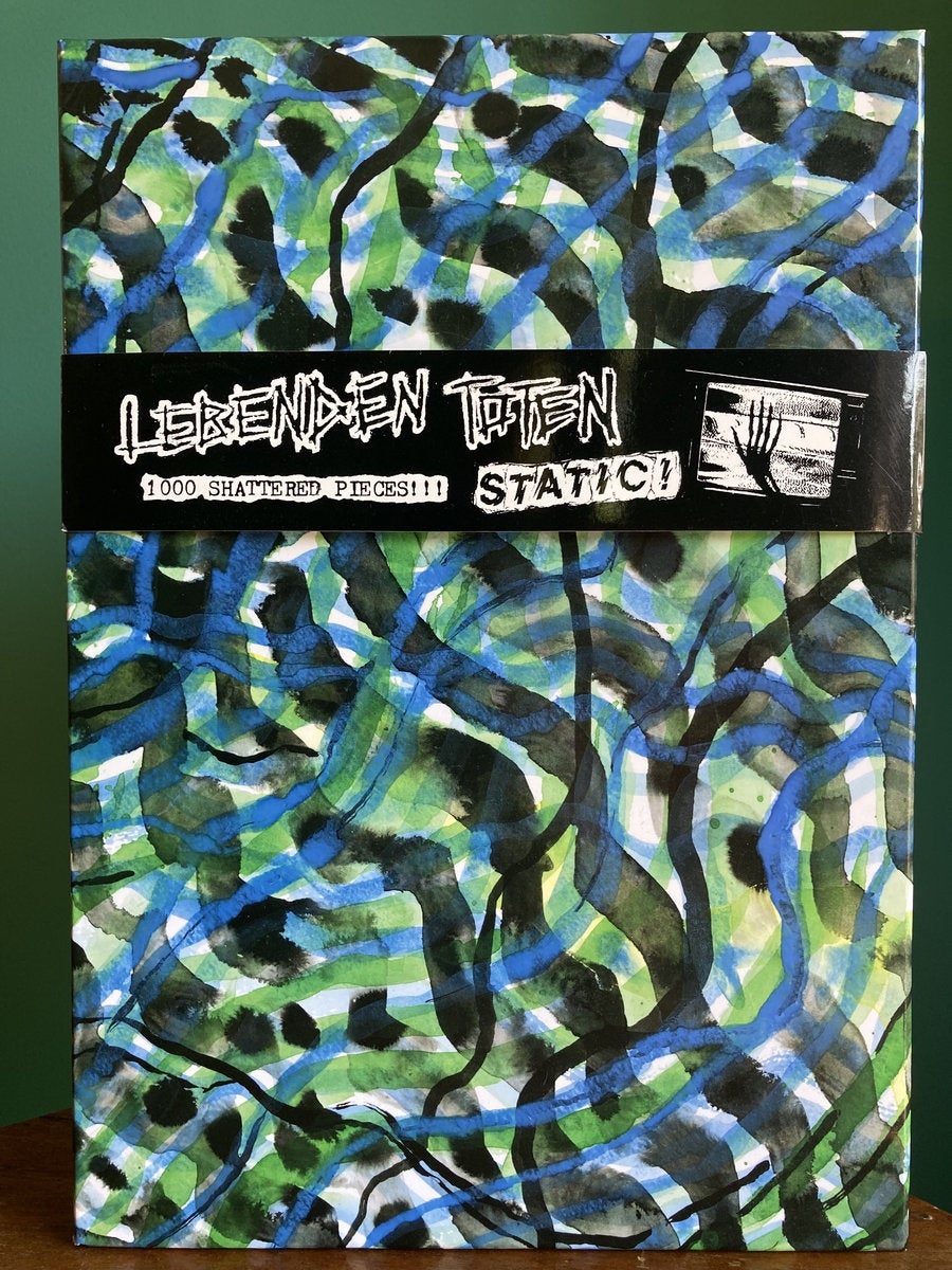 "Image of LEBENDEN TOTEN - ""Static!"" 1000 piece jigsaw puzzle"