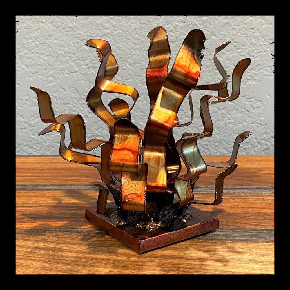 """Saffron Koolkop"" Welded Sculpture"