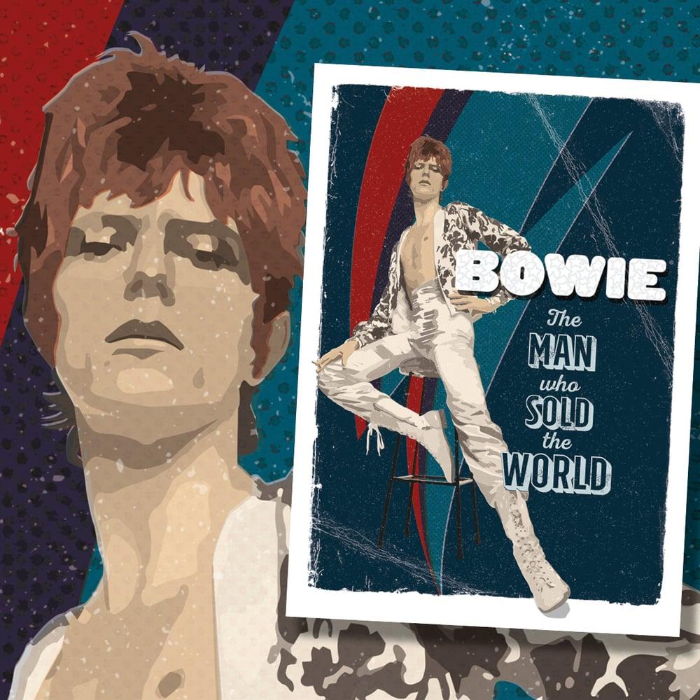 David Bowie Art Print – No. 2 'The Man'
