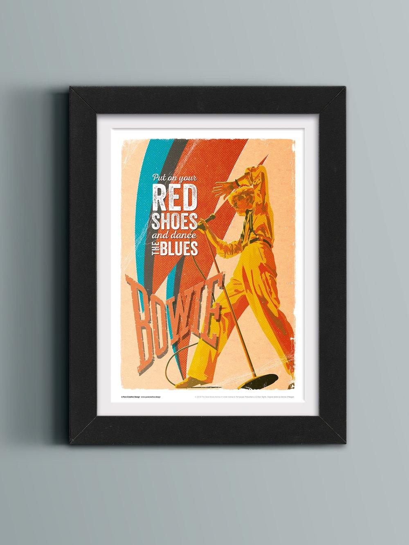 David Bowie Official Art Print – No. 6 'Serious'