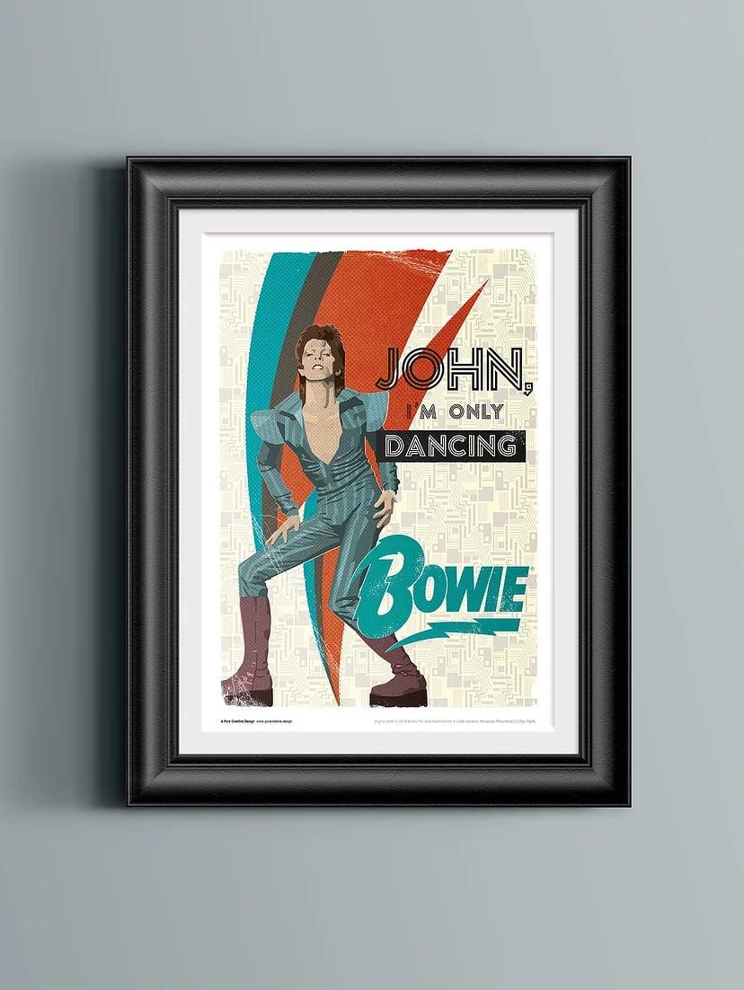 David Bowie Art Print – No. 3 'John'