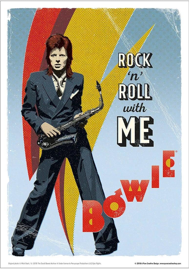 David Bowie Art Print – No. 4 'Pinup'