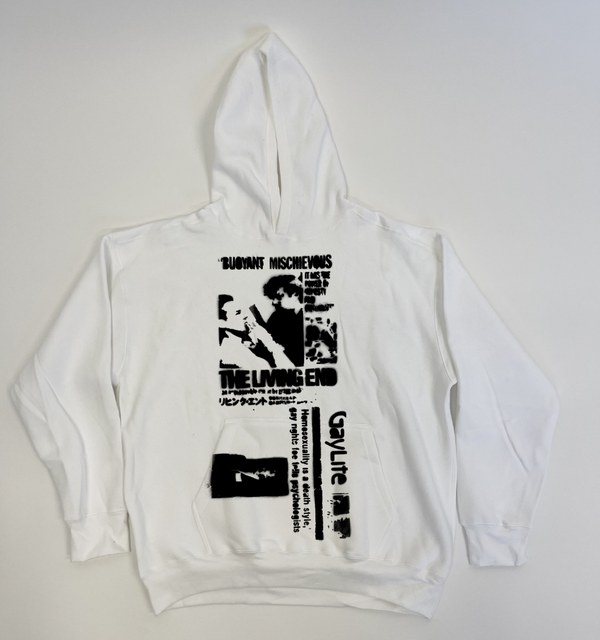 Image of THE LIVING END HOODIE