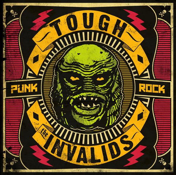 "Image of TOUGH/Invalids Split 7"" ep"