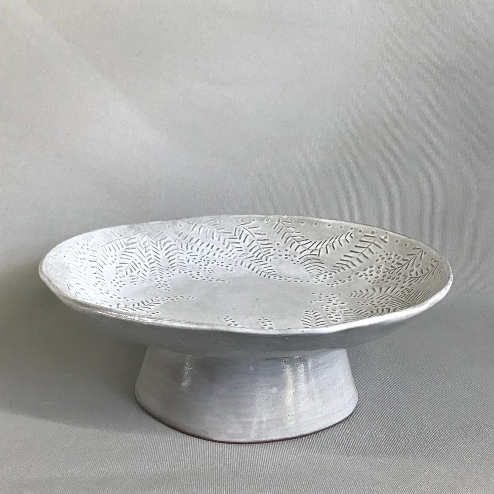 Image of Wattle Cake Stand/Presentation Bowl