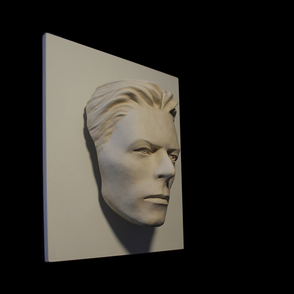 David Bowie - LED Version - The Thin White Duke Sculpture
