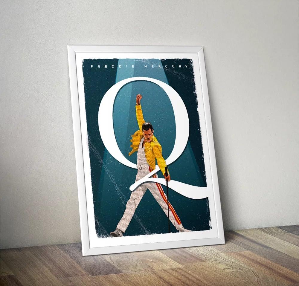 Gone But Not Forgotten – Freddie Print