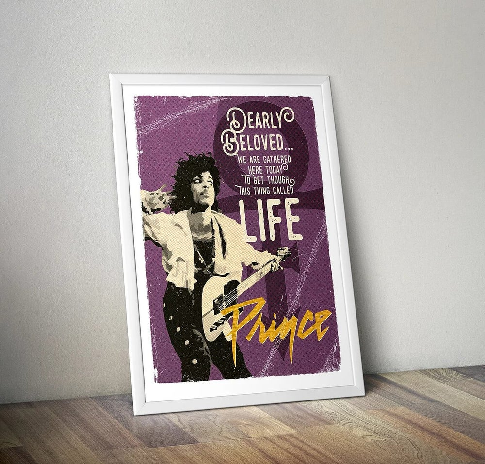 Gone But Not Forgotten – Prince Print