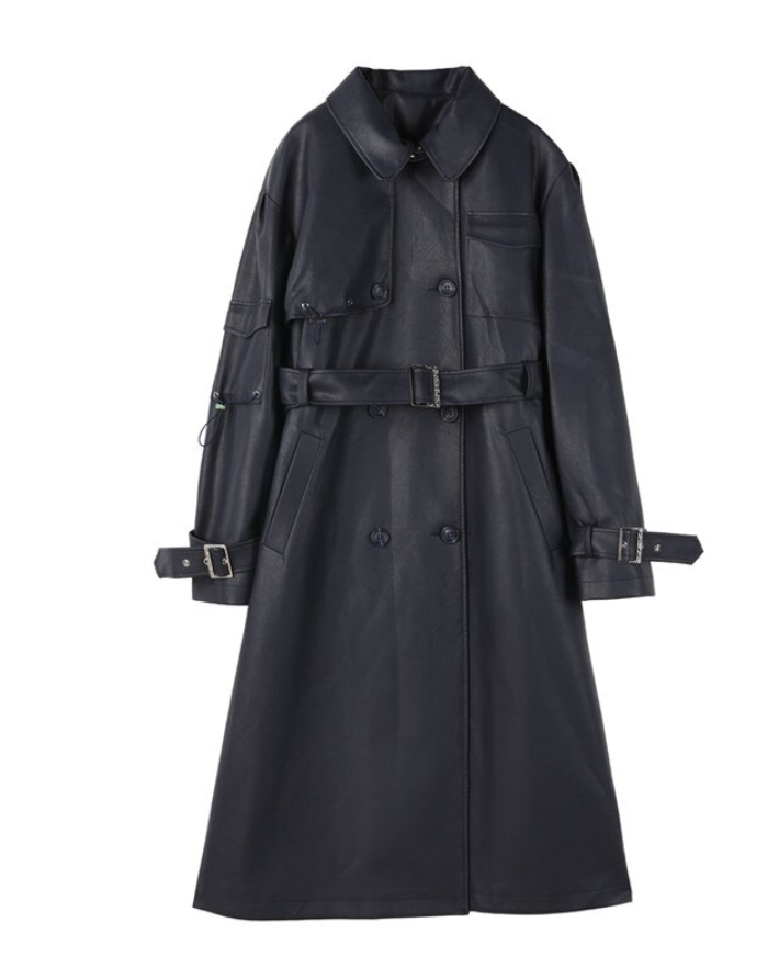 Image of Olive Trench Coat