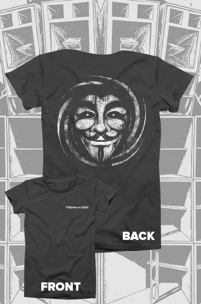 Image of Vienn_a_Tek - Guymask T-Shirt