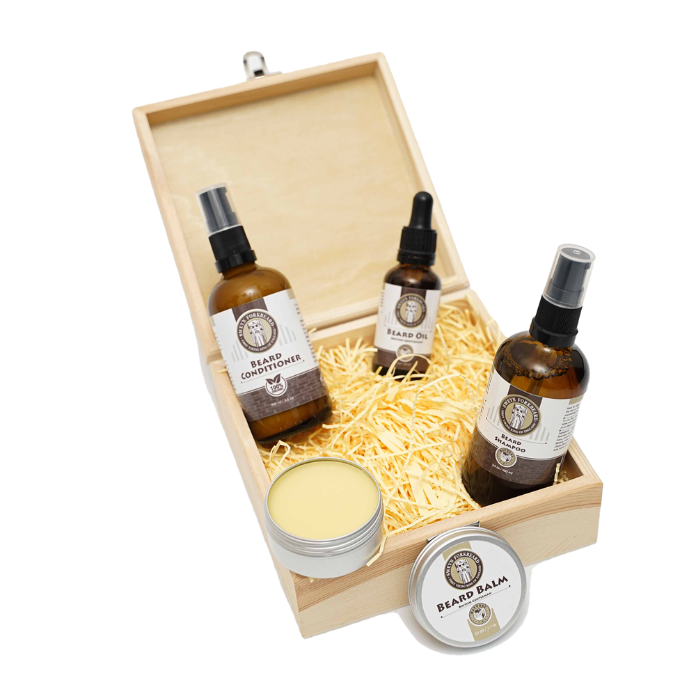 Image of Beard Care Gift Box with Beard Contitioner (Save 15%)