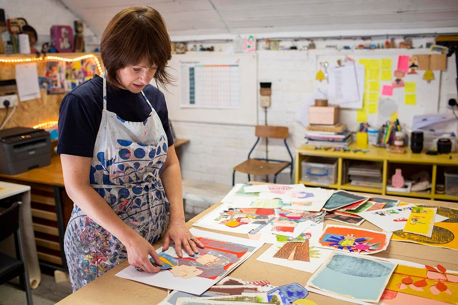 Image of Paper Collage Character Workshop Saturday 5th March 10am - 4pm