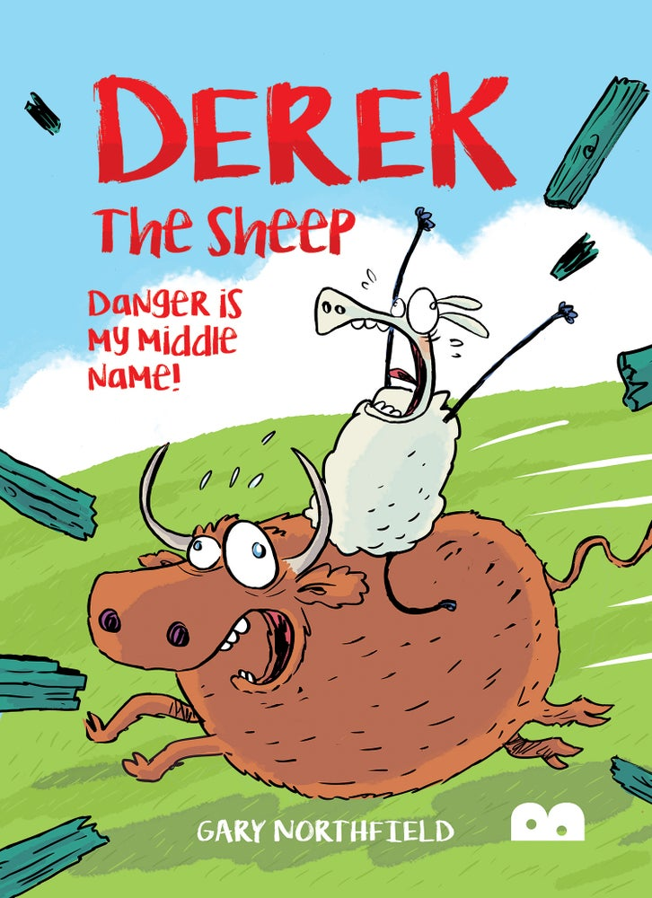 Image of Derek the Sheep: Danger is my middle name!