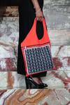 Higüemota Black and Orange Bag