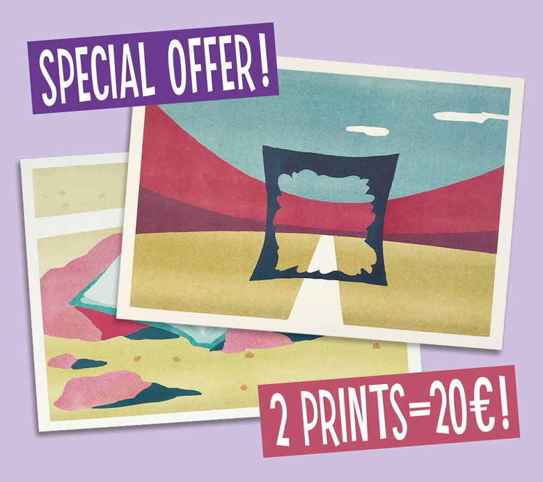 Image of Special Offer: 2 prints A3 for the price of one!