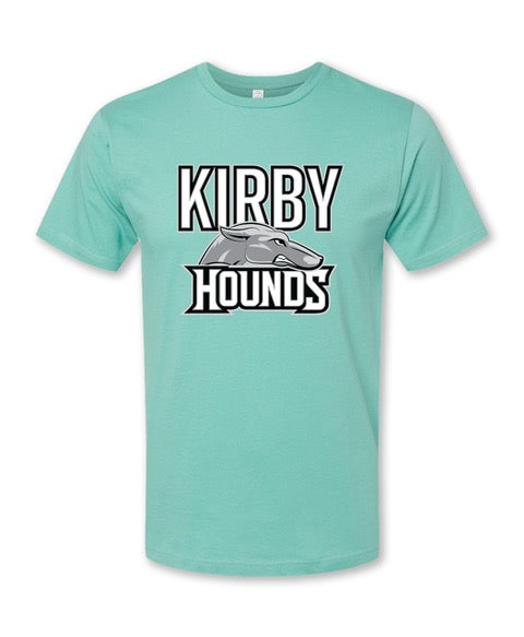 Image of Kirby Hounds Mint T Shirt
