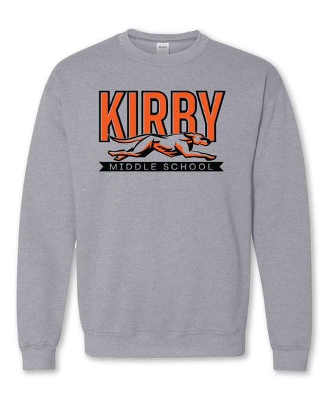Image of Grey Kirby Middle School Sweatshirt