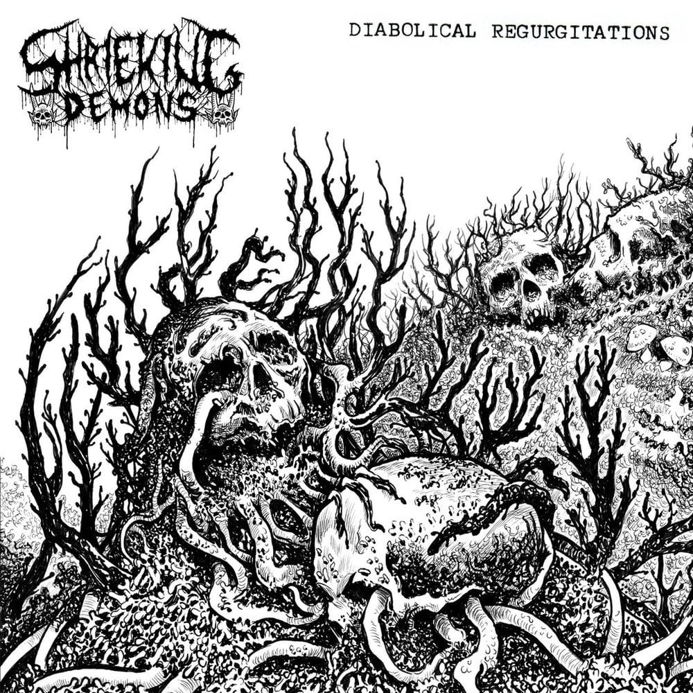 Image of Shrieking Demons -  Diabolical Regurgitations Cassette