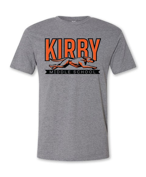 Image of Grey Kirby Middle School T Shirt