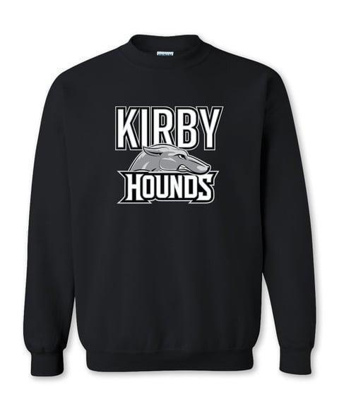 Image of Black Kirby Hounds Sweatshirt