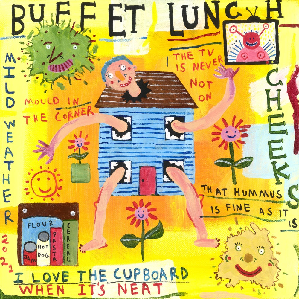 """Image of BUFFET LUNCH - 'Cheeks / Mild Weather' 7"""" (pre-order)"""