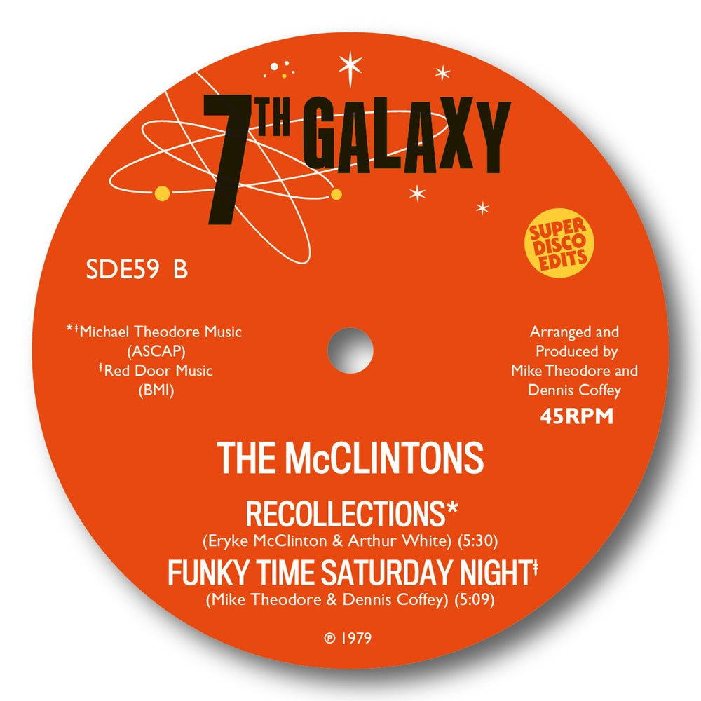 """The McClintons """"Love Doctor"""" 4 Track Disco 12 7th Galaxy Pre Order"""