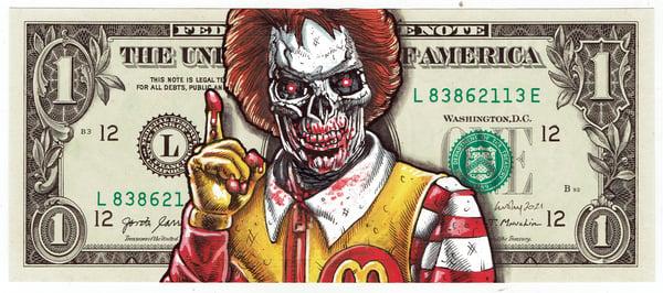 Image of Real Dollar Original. MacDeath.