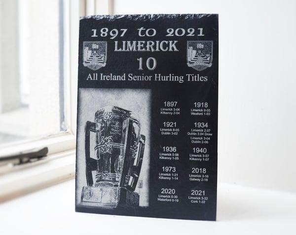 Image of Limerick All Ireland Hurling Titles. 1897 - 2021
