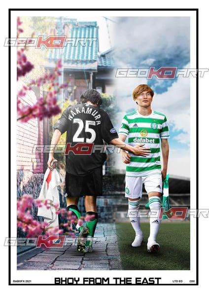 Image of KYOGO FURUHASHI NAKAMURA CELTIC FC