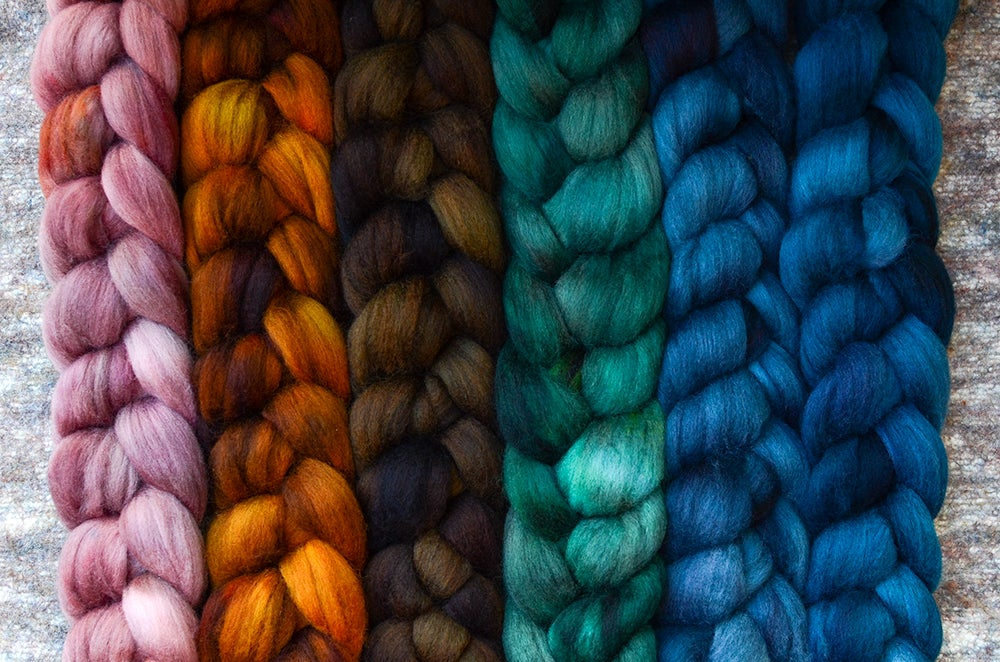 """Image of """"Branch and Root"""" September Fiber Club Coordinate Pack- PRE-ORDER - 6 oz."""