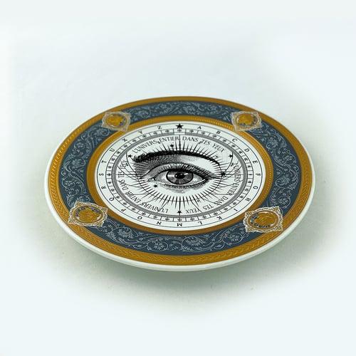 Image of Lover's Eye - Astrolabio - Fine China Plate - #0780