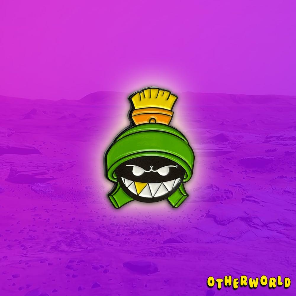 Image of OW Martian (Green) pin