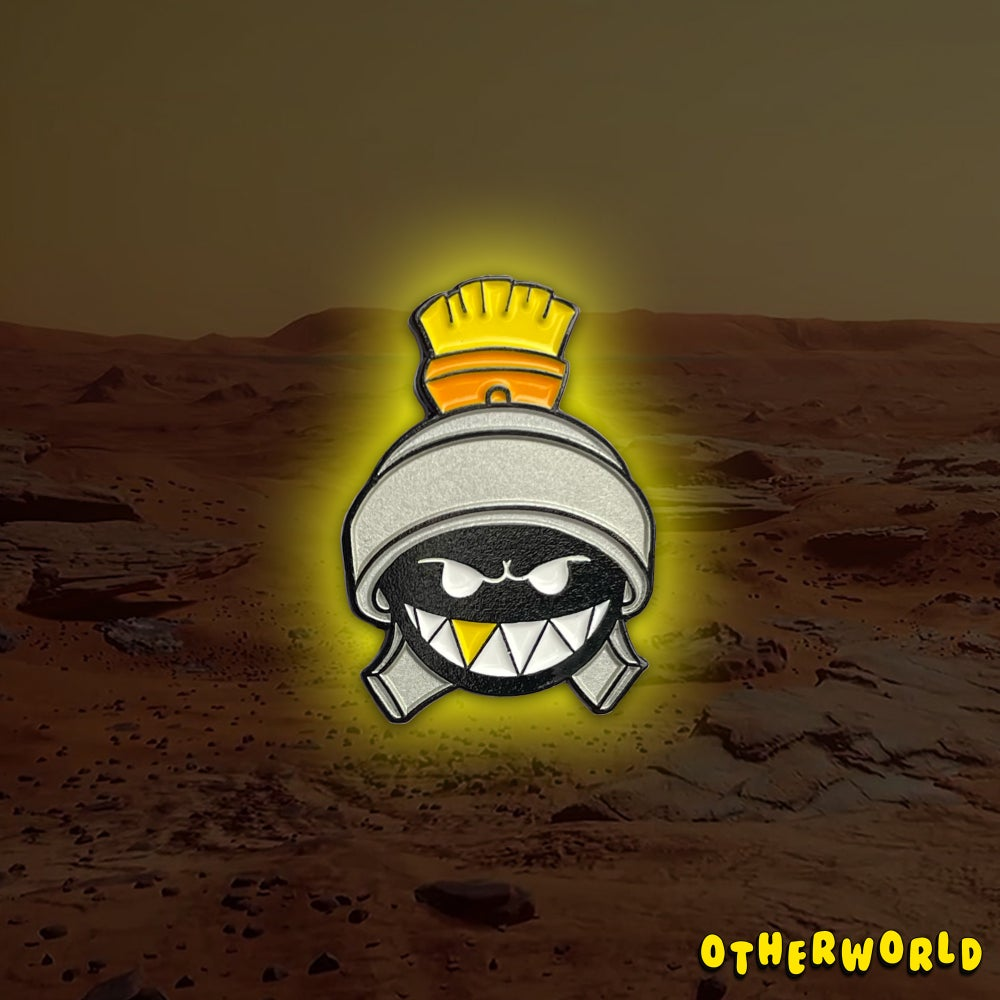Image of OW Martian (Silver) pin